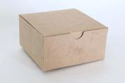 Cakesupplyshop Kraft Favour or Gift Box 4 X 4 X 6 | 10 Ct