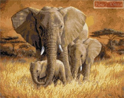 Loving Mother - Elephant Counted Cross Stitch Kit