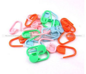 Colourful Knitting Crochet Locking Stitch Marker, Pack of 500