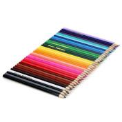 Acite Colour Pen Set, 36 Count Children Pencils with Sharpener ~ Cartoon Drawing Pencils for Colouring Book ~ Non Toxic in Reusable Case
