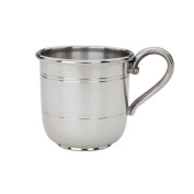 Reed & Barton Pewter Baby Cup, Cornwall, 180ml by Reed & Barton