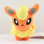 11cm 1pcs/set Pokemon Flareon Figure Soft Stuffed Animal Plush Toy