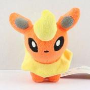 11cm 1pcs/set Pokemon Flareon Figure Soft Stuffed Animal Plush Toy