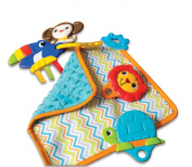 Kiddopotamus Shake with Rattle and Teether