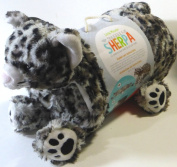Little Miracles Baby Blanket & Plush Spotted Leopard Cat Snuggle Me Sherpa