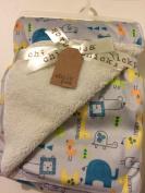 Baby Blanket Jungle Theme Reversible