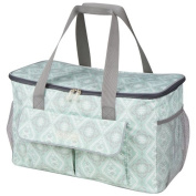 The Bumble Collection Down By The Shore Tote Bags, Majestic Mint