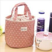 Portable Thermal Insulated Tote Pouch Cooler Lunch Box Storage Picnic Bag