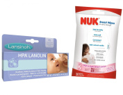 Lansinoh HPA Lanolin for Breastfeeding Mothers with Breast Wipes