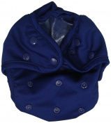 Kissa's Waterproof Nappy Cover, Navy