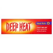 Deep Heat 6 X Heat Rub 100G