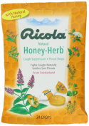 Ricola USA, Inc. Throat Drop, Honey-Herb, 24-Count Pack of 2