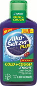 Alka-Seltzer Plus Severe Cold and Cough Night Liquid, 250ml