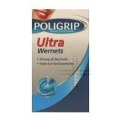 Wernets Three Packs Of Poligrip Ultra Denture Fixative Powder