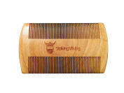 Wooden Pocket Beard Comb from Striking Viking - Anti-Static and Hypoallergenic Wood Pocket Comb For Beards - Show your beard the care it deserves!