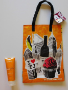 Trader Joe's Moisturising Cream Shave Honey Mango And NY Style Reusable Shopping Bag
