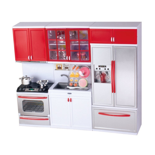 Qun feng kitchen toy doll play set kit for kids free delivery for Kitchen set nz