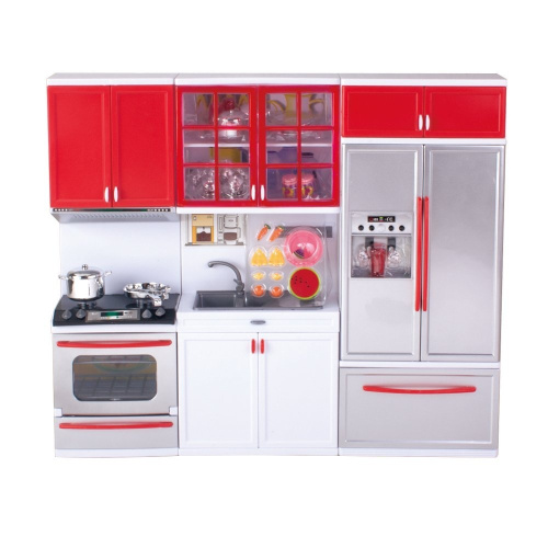 Qun feng kitchen toy doll play set kit for kids free delivery for Kitchen kit set