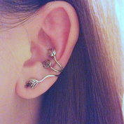 1Pcs Women's Retro Earring Leaves Design Ear Cuff Wrap