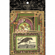 Graphic 45 Rare Oddities Ephemera Cards
