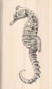 Inkadinkado Seahorse Wood Stamp