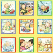 My Babie's Day Quilt Panel - Quilt Kit 100% Cotton Baby Fabric