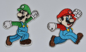MARIO and LUIGI Characters BROTHERS 4 LYF! Combo Pack Embroidered PATCHES