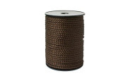"""Twisted Cord 8/2 (1/16"""" - 2mm) 144 Yards- Brown"""