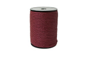 "Twisted Cord 8/2 (1/16"" - 2mm) 144 Yards- Maroon"