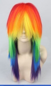 53cm Long Colourful My Little Pony Friendship Is Magic Cosplay Wigs
