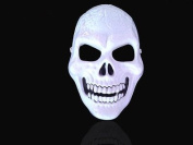 Halloween scary skull masks, you can choose shine one or no shine one