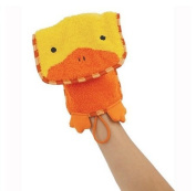 Darby the Duck - Animal Shape Cotton Mitt - Glove - Puppet - Wash Cloth - Children Bath Brush - Bath Glove - Bath Towel Gloves - Cute Glove - Popular Play Wash Cloth