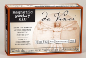 Magnetic Poetry - Leonardo Da Vinci Kit - Words for Refrigerator - Write Poems and Letters on the Fridge - Made in the USA