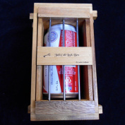 Secret Lock Box III - The Gaol Cell Puzzle Box - Holds Beer Can, Many Cell Phones, Gift Card, Etc