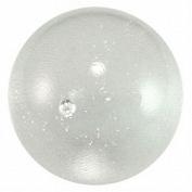 Mega Marble - Ice Clear ToeBreaker - Jumbo 5.1cm Glass Marble