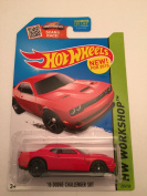 Hot Wheels, 2015 HW Workshop, '15 Dodge Challenger SRT [Red] Die-Cast Vehicle