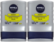 Nivea For Men Double Action After Shave Balm - 100ml - 2 pk