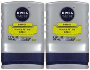 Nivea For Men Double Action After Shave Balm - 100ml - 2 pk