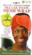 Donna Deluxe Foam Mesh Wrap, Olive Oil + Vitamin E Treated - #22007 Brown
