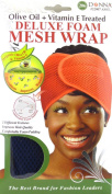 Donna Deluxe Foam Mesh Wrap, Olive Oil + Vitamin E Treated - #22007 Navy