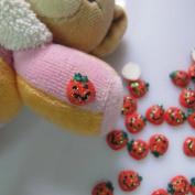 Mini Pumpkin Nail Decoration