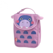 BUILT NY Big Apple Buddies Hester Hippo Lunch Sack