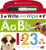 Write and Wipe ABC 123 (Scholastic Early Learners) [Board book]