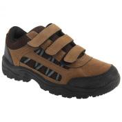 Dek Boys Ascend Triple Touch Fastening Trek Hiking Trail Shoes