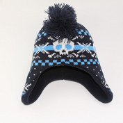 Children Boys Fashion Cool Christmas Winter Exaggerated Shape Warm Ear Flaps Hat Knit Hat Hedging Cap Beanies
