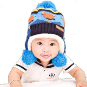 Children Baby Fashion Lovely Christmas Winter Small Frog Knit Hat Hedging Cap Beanies
