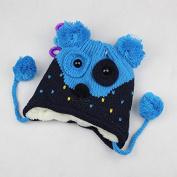 Children Baby Cartoon Lovely Autumn-Winter 5 Colour Options Puppy Shape Warm Ear Flaps Hat Knit Hat Hedging Cap Beanies