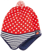Chipie Baby Girls Denim Mountain Plain Beanie