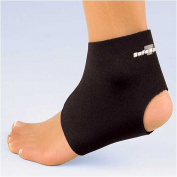Fla 40-701MDBLK Safe-T-Sport Neoprene Ankle Support, Black, Medium