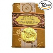 Bee & Flower - Chinese Sandalwood Soap 80ml - 12/case